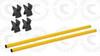 2 Poles & 4 Clips for Hurdle Kit