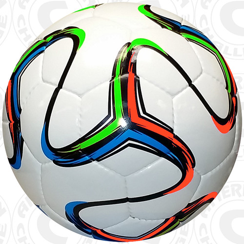 Rio Ball, White/Aqua-Lime-Orange