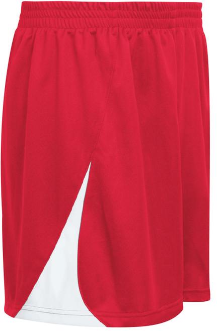 Denver Shorts, Red/White