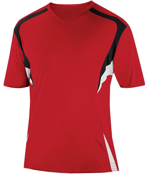 Delray Jersey, University Red/Black-White