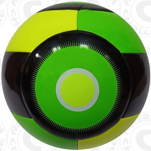 Nevel Soccer Ball, Lime/Lemon-Black