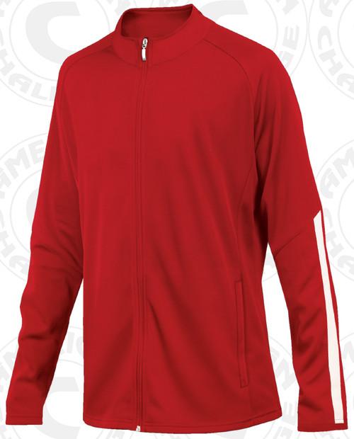 Salem Jacket, Red/White