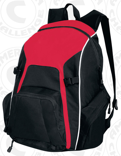 Real Backpack, Red/Black-White