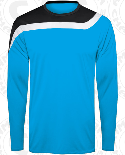 Rockport Keeper Jersey, Electric Blue/Black-White