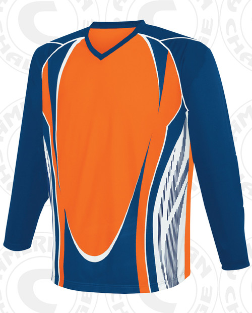 Lexington Keeper Jersey, Orange/Navy-White