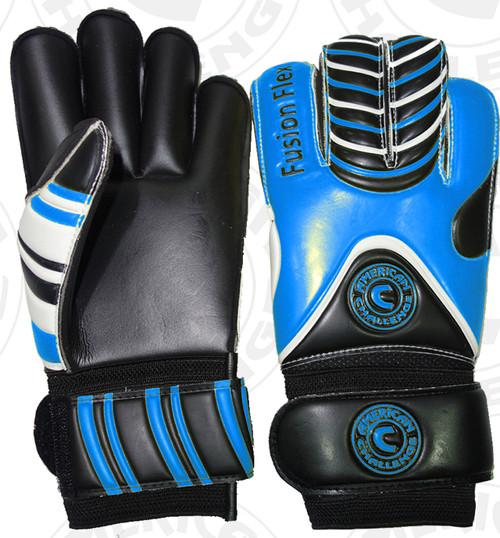 Fusion Flex Keeper Gloves, Royal/Black