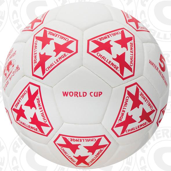 World Cup Soccer Ball, White/Red - OG