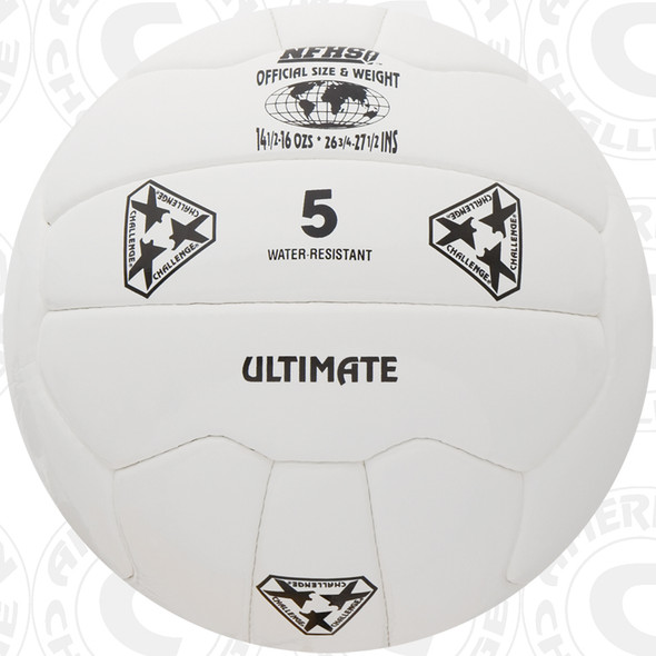 Ultimate Soccer Ball, White - 18 Panel
