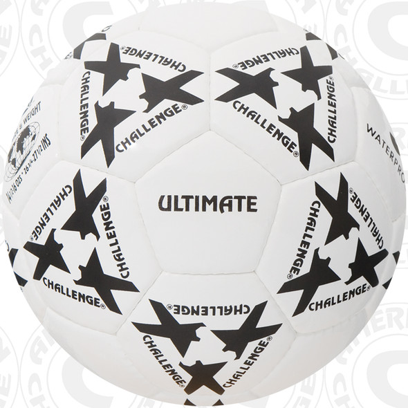 Ultimate Soccer Ball, White/Black
