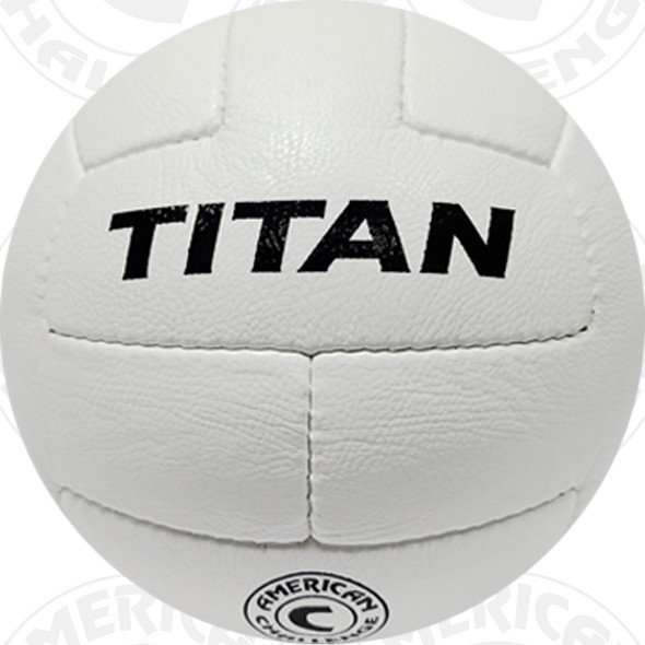 Titan Soccer Ball, White