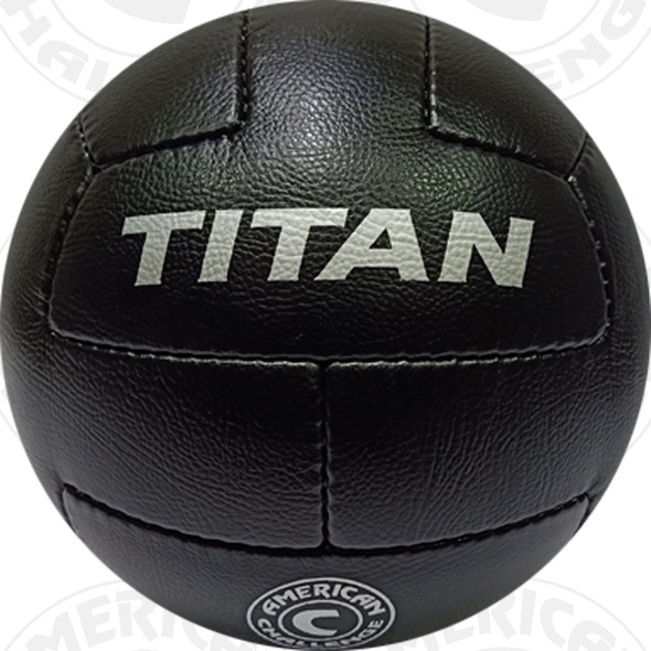 Titan Soccer Ball, Black