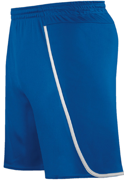 Pacific Shorts, Royal/White