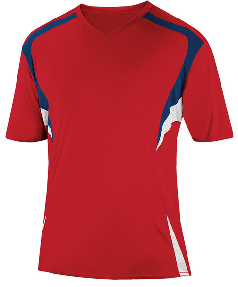 Delray Jersey, University Red/Navy-White