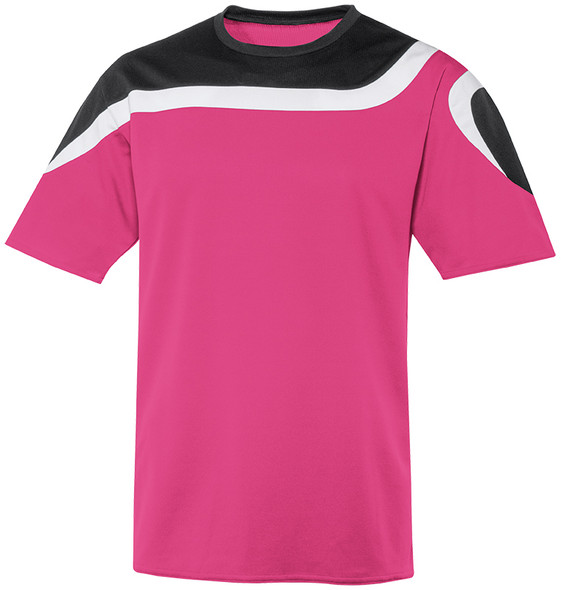 Irvine Jersey, Raspberry/Black-White