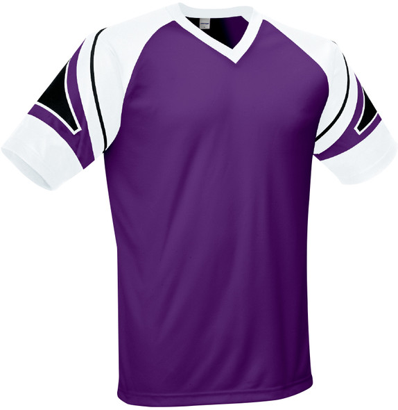 Vegas Jersey, Purple/White-Black