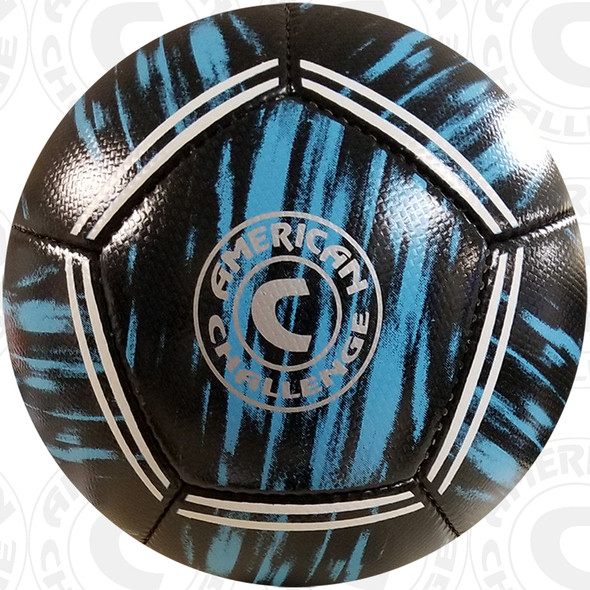 Kura soccer ball, Black/Sky