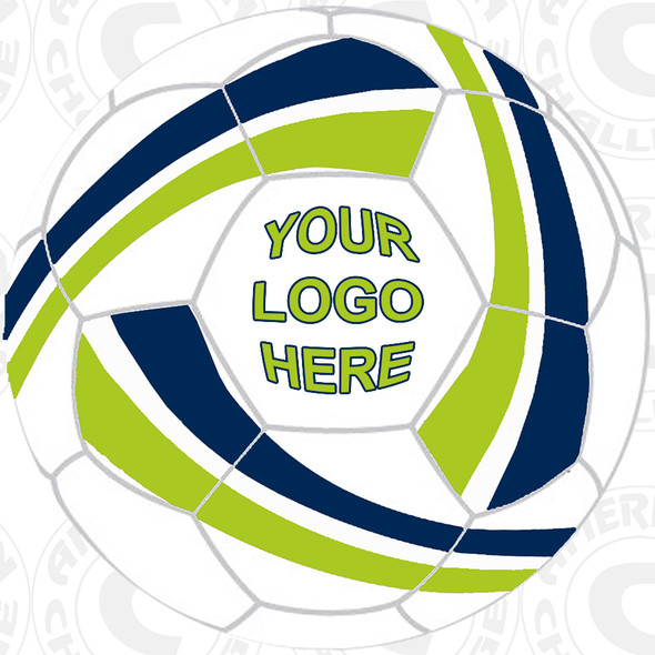 Ion soccer ball, Custom Logo