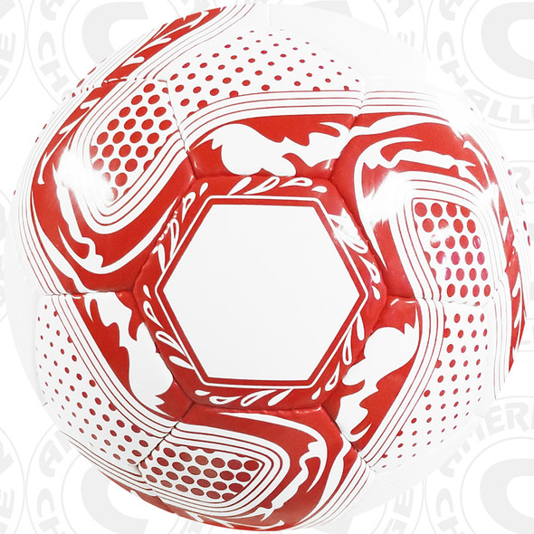 Crusader Ball, White/Red