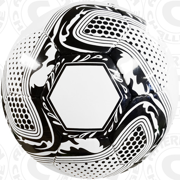 Crusader Ball, White/Black
