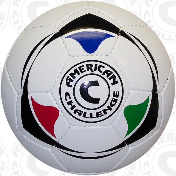 Club Air soccer ball, White/Multi