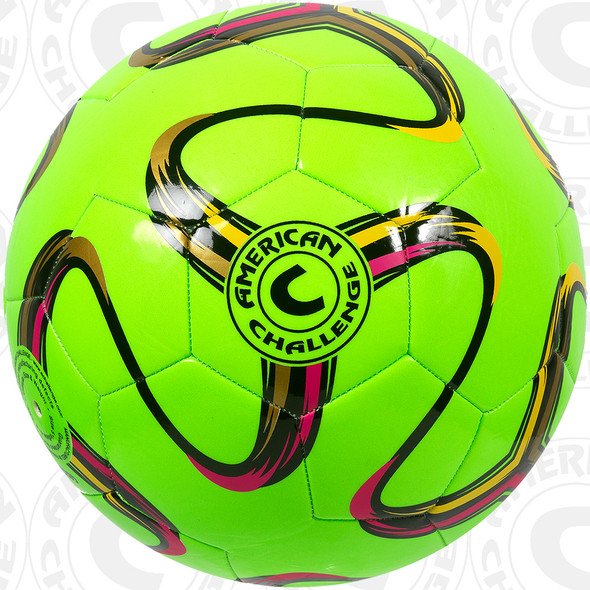 Brasilia soccer ball, Lime