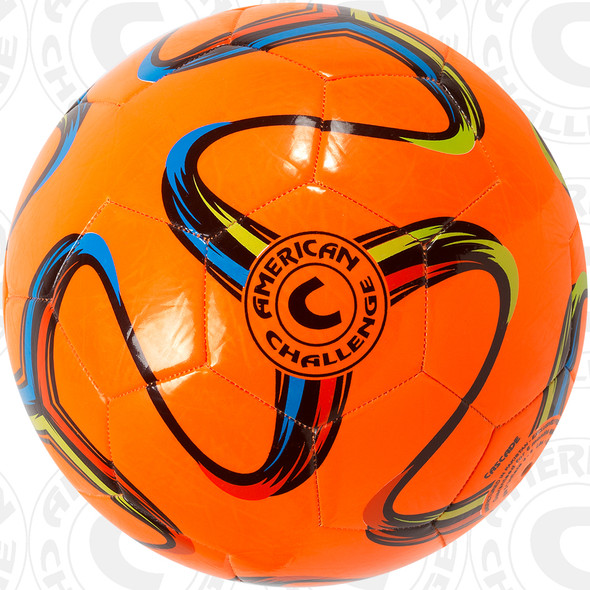 Brasilia soccer ball, Orange