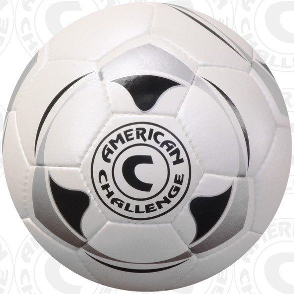 Apex 90 soccer ball, White/Black-Silver