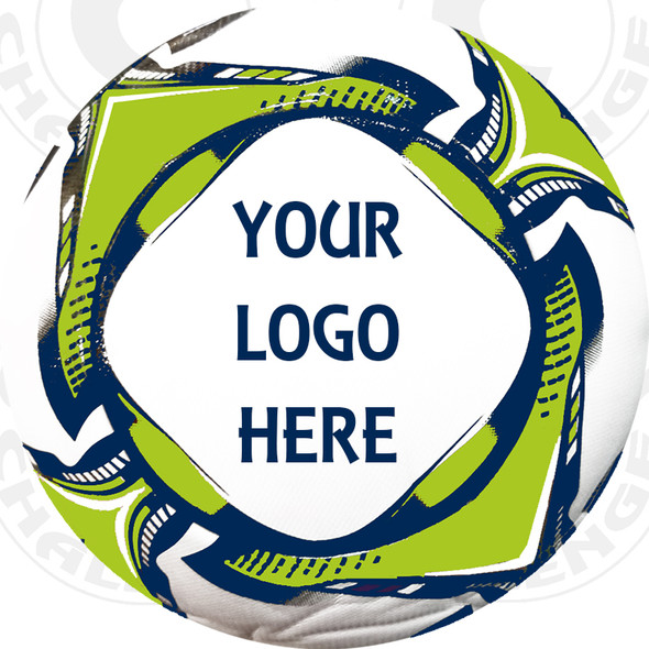 Alpha-1 soccer ball, Custom Logo