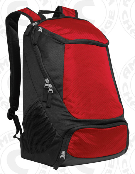 Volt Backpack, Red/Black