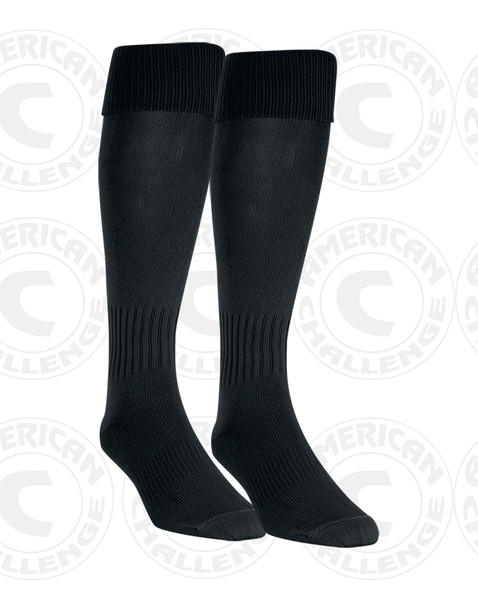 CENTRAL ISLIP LIJSL TRAVEL SOCKS, BLACK