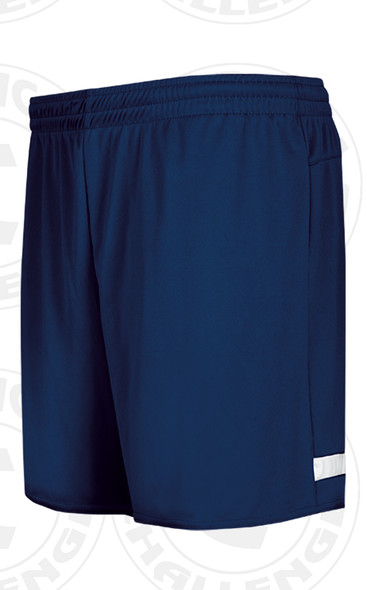 CENTRAL ISLIP LIJSL TRAVEL SHORTS, NAVY/WHITE