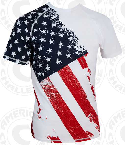 PATRIOT SHORT SLEEVE COMPRESSION SHIRT