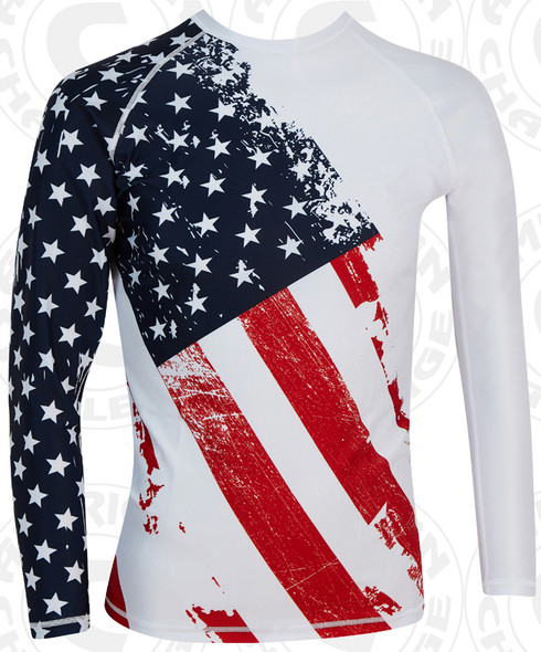 PATRIOT LONG SLEEVE COMPRESSION SHIRT
