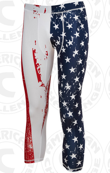 Patriot 3/4 compression pants