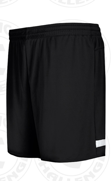 DIX HILLS TRAVEL SHORT, BLACK/WHITE
