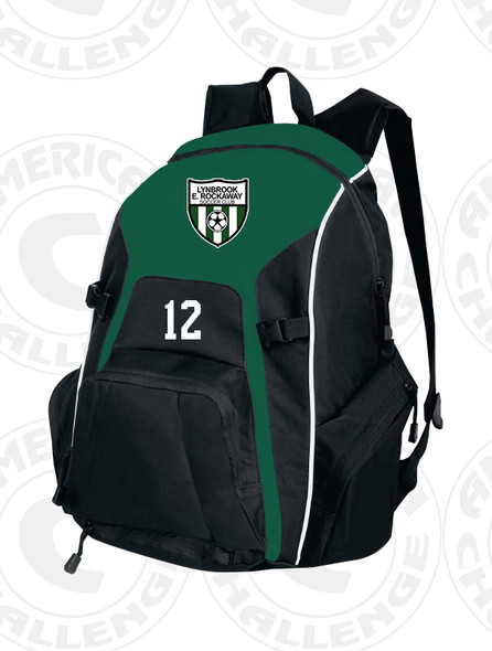LYNBROOK EAST ROCKAWAY REAL BACKPACK, FOREST