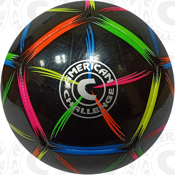 Pento Soccer Ball, Black