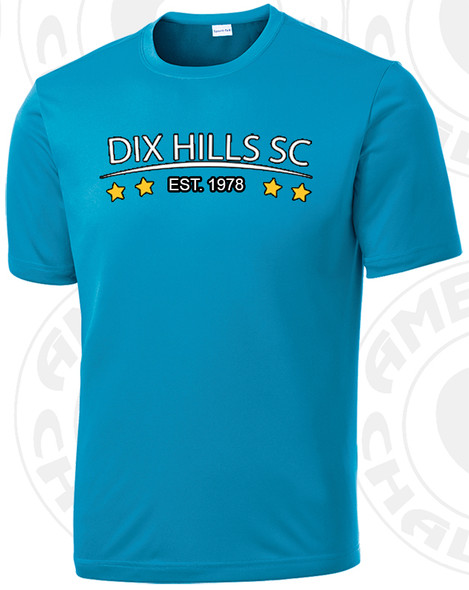 Dix Hills training shirt, Atomic Blue