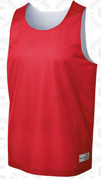 Morton reversible vest, Red/White