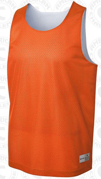 Morton reversible vest, Orange/White