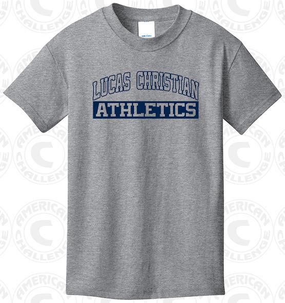Luca Christian Academy T-Shirt, Grey