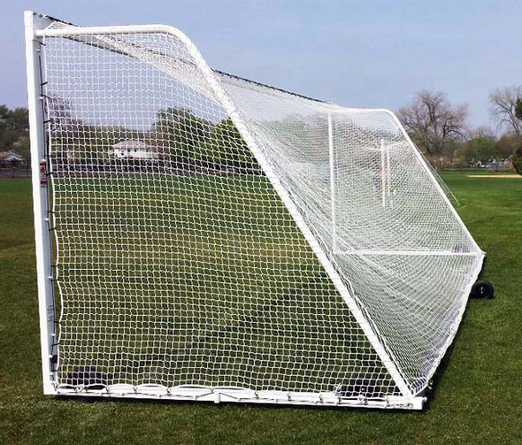 7' x 21' x 3' x 7' ULTIMATE WHEELED GOAL - side view