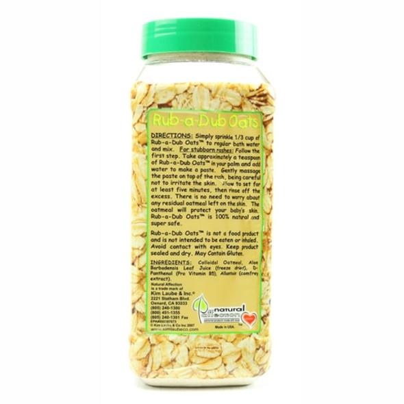 Rub-A-Dub Oats - High Quality Collodial Oatmeal Powder - Made in USA