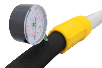 Hypodermic Needle Pressure Gauge