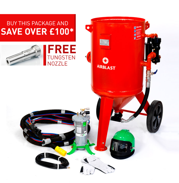 200ltr Redline Contractor Blast Pot Kit
