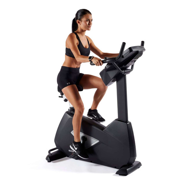 Sole B94 Upright Exercise Bike In use