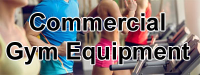 Fitness Equipment for use in Commercial Settings like hotels, apartments, allied-health professionals