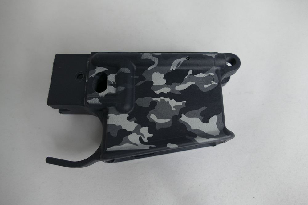 Urban Camo on Stealth Grey Receiver