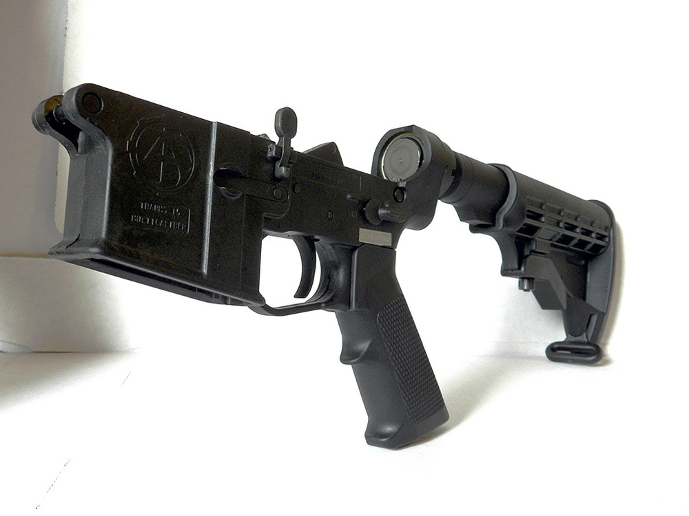 Tennessee Arms Company complete AR lower receiver with standard M4 equipment