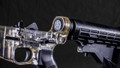 Ghost Gun Clear Complete AR15 Style Lower